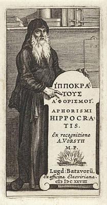 Hippocrates Of Kos, Pieter Serwouters, Bonaventura Elzevier Poster