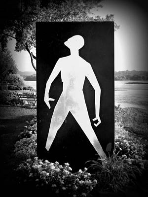 Hiroshima The Unkillable Human - Black And White Poster by Joseph Skompski