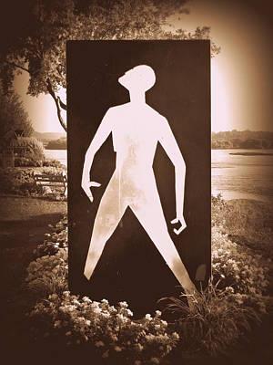 Hiroshima The Unkillable Human - Sepia Poster by Joseph Skompski