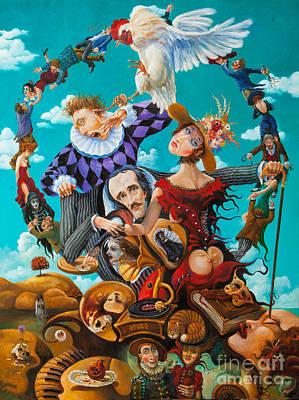 His Majesty Edgar Allan Poe Poster by Igor Postash