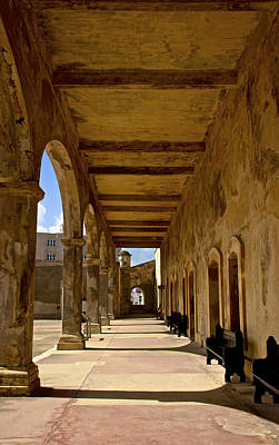 Historic Archways Poster