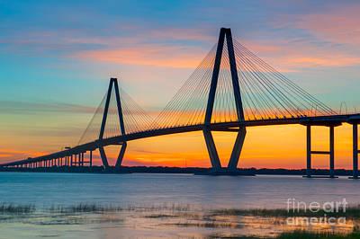 Historic Charleston Sunset Poster
