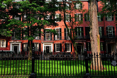 Historic Homes Of Beacon Hill, Boston Poster