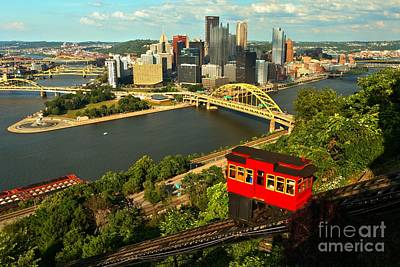 Historic Duquesne Incline Poster by Adam Jewell