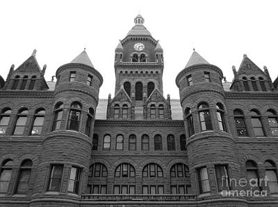 Poster featuring the photograph Historic Old Red Courthouse Dallas #2 by Robert ONeil