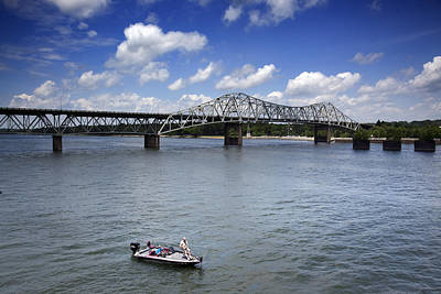 Historic Oneal Bridge On The Tennessee River In Florence Poster by Carol M Highsmith