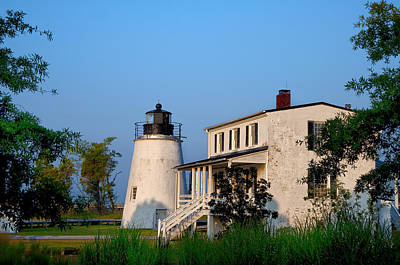 Historic Piney Point Lighthouse Poster by Bill Cannon