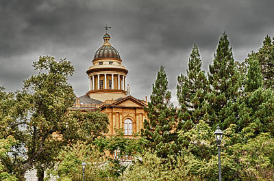 Poster featuring the photograph Historic Placer County Courthouse by Jim Thompson