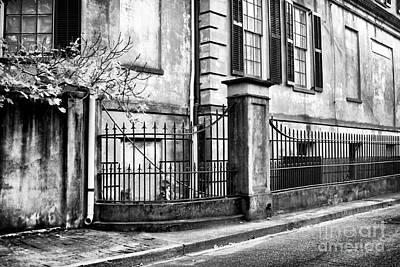 Historic Savannah Poster by John Rizzuto