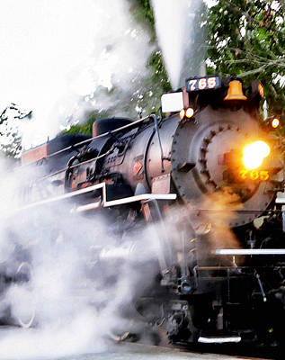 Historic Steam Engine - Nickel Plate Road No. 765 Poster