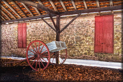 Historic Storage Shed Poster