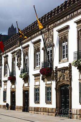 Historic Viana Do Castelo Poster by James Brunker