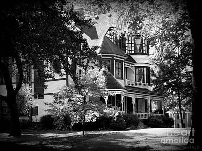 Historic Victorian Home Poster by Deborah Fay