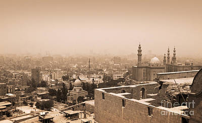 Poster featuring the photograph Historical Buildings Of Cairo by Mohamed Elkhamisy