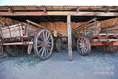 Historical Horse Drawn Carts Poster