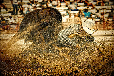 Hittin' The Dirt Poster by Lincoln Rogers