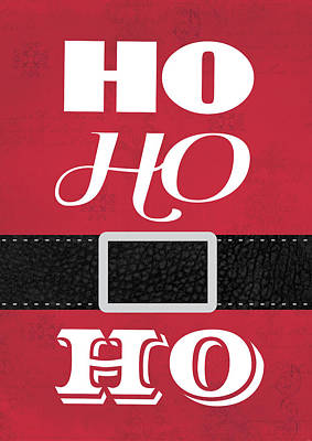 Ho Ho Ho Poster by Tammy Apple