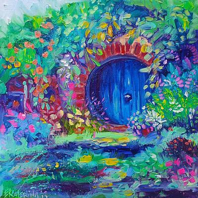 Hobbit House Shire Hobbiton Poster