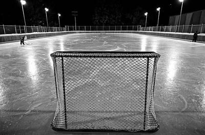 Hockey Night In Canada Poster by Mark Iocchelli