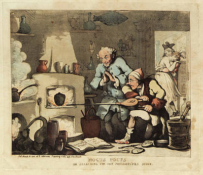 Hocus Pocus  Poster by Museum Of The History Of Science/oxford University Images