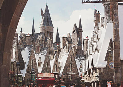 Hogsmeade Poster by Jessie Gould