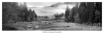 Hoh River  Poster by Twenty Two North Photography