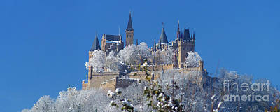 Poster featuring the photograph Hohenzollern Castle Germany by Rudi Prott