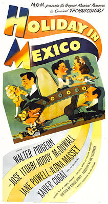 Holiday In Mexico, Us Poster, Top Row Poster