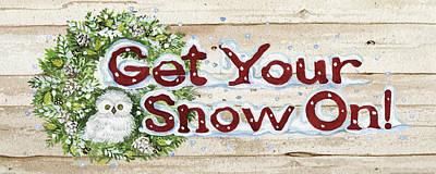 Holiday Sayings IIi On Wood Poster