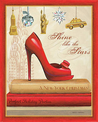 Holiday Sparkle I Poster by Marco Fabiano