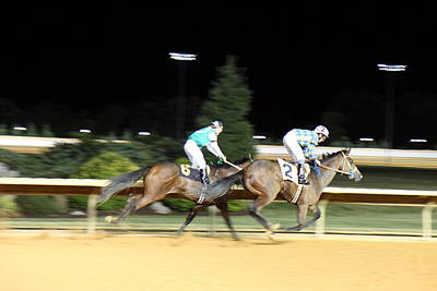Hollywood Casino At Charles Town Races - 121214 Poster by DC Photographer