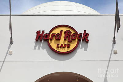 Hollywood Hard Rock Cafe In Los Angeles California 5d28430 Poster by Wingsdomain Art and Photography