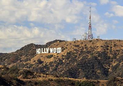 Hollywood Sign Poster by FL collection