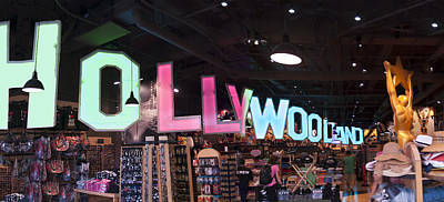 Hollywoodland Souvenir Shop Poster by Rene Sheret