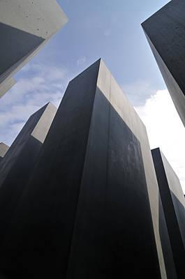 Holocaust Memorial Berlin Germany Poster
