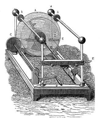 Holtz Electrostatic Generator Poster