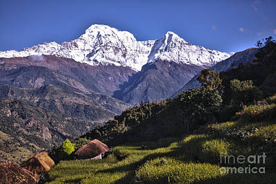 Holy Annapurna South Photo By Artmif Hdr Poster