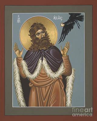 Poster featuring the painting Holy Prophet Elijah 009 by William Hart McNichols