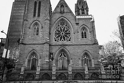holy rosary cathedral headquarters of the roman catholic archdiocese of Vancouver BC Canada Poster by Joe Fox