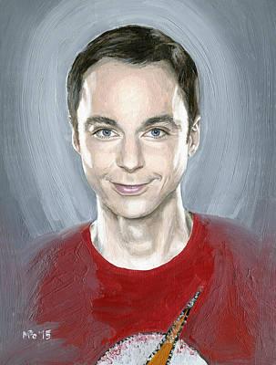 Holy Sheldon Poster