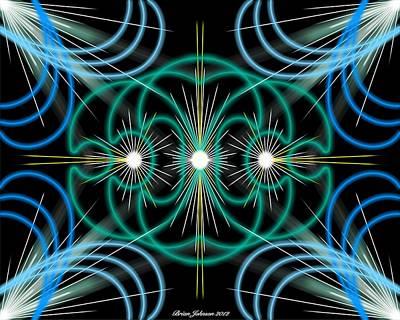Holy Trinity Poster by Brian Johnson