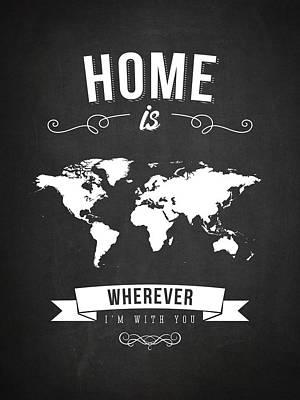 Home - Dark Poster