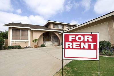 Home For Rent Poster by Joe Belanger