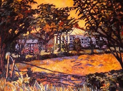 Home In Christiansburg Poster by Kendall Kessler