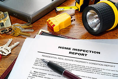 Home Inspection Report Poster