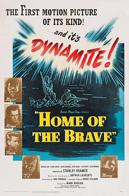 Home Of The Brave, Us Poster, From Top Poster by Everett