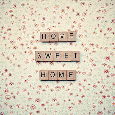 Home Sweet Home Poster by Nastasia Cook