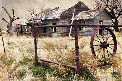 Homestead Poster by Betty LaRue