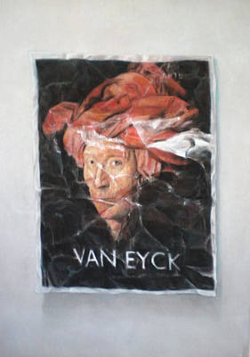 Hommage To Van Eyck Poster