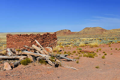 Homolovi Ruins State Park Arizona Poster